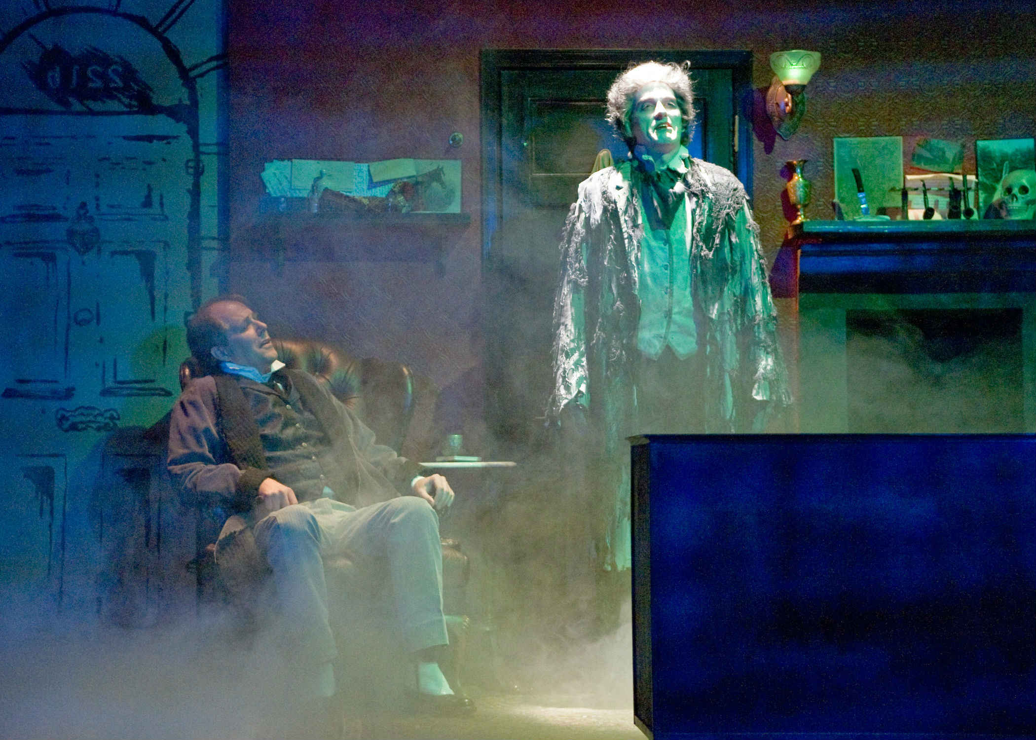 Sherlock Holmes and the Case of the Christmas Carol at Taproot Theatre